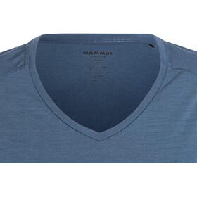 Mammut Alvra - T-shirt manches courtes Femme - bleu